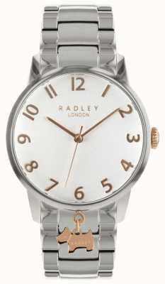 Radley Senhoras dois tom relógio RY4361