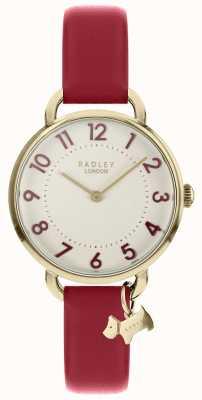 Radley As senhoras assistem alça de ombro aberto ouro pálido RY2686