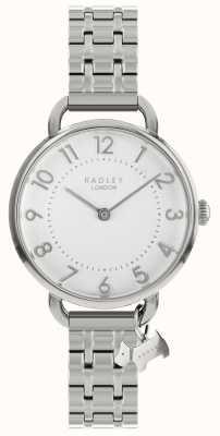 Radley Relógio de senhora pulseira de ombro aberta em prata RY4343