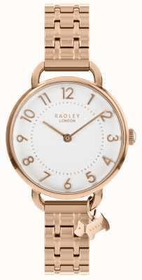Radley Relógio de senhora em ouro rosa com bracelete aberto RY4344