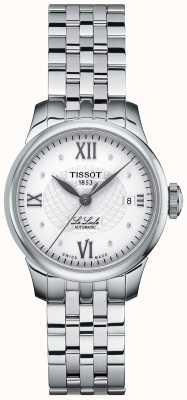 Tissot Relógio automático feminino le locle diamante fino T41118316