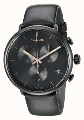 Calvin Klein Relógio de cronógrafo para homem do meio-dia K8M274CB