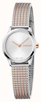 Calvin Klein Relógio mínimo K3M23B26
