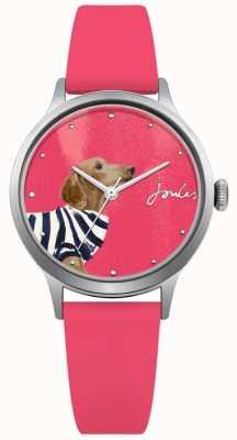 Joules Correia de silicone rosa rosa para mulher JSL010P