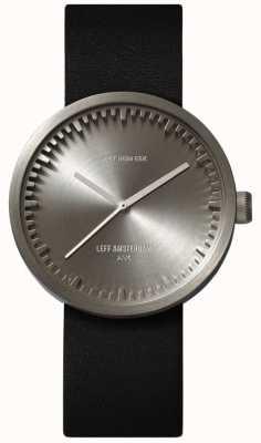 Leff Amsterdam Relógio de tubo d38 cinta de areia caixa de aço inoxidável LT71003