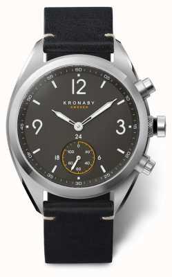 Kronaby Apex smartwatch | pulseira preta | a1000-3114 S3114/1