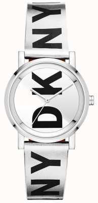 DKNY Relógio de prata soho para mulher NY2786