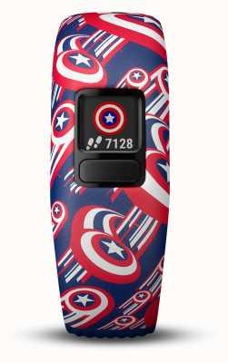Garmin Vivofit jr2 captain américa alça ajustável 010-01909-12