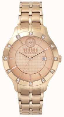 Versus Versace Womens brackenfell | seletor de rosegold | stee inox rosegold VSP460418
