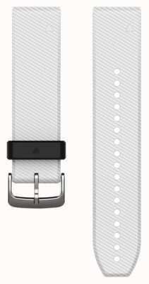 Garmin Cinta de borracha branca quickfit 22mm fenix 5 / instinto 010-12500-01