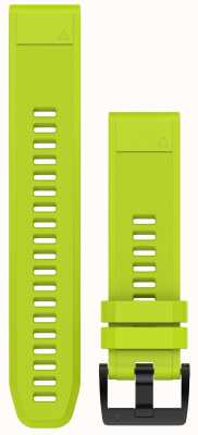 Garmin Amp amarelo pulseira quickfit 22mm fenix 5 / instinto 010-12496-02