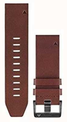 Garmin Cinta de couro marrom quickfit 22mm fenix 5 / instinto 010-12496-05