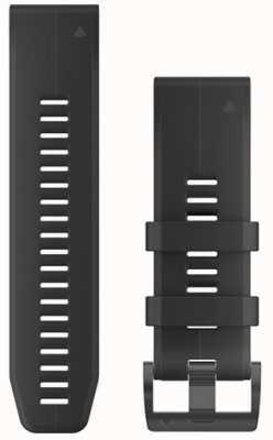 Garmin Correia de borracha preta quickfit 26mm fenix 5x / tactix charlie 010-12741-00