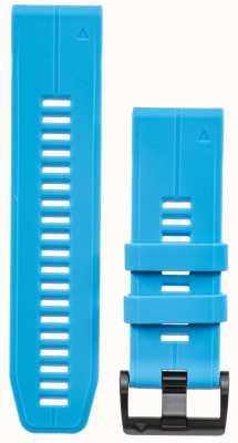Garmin Pulseira de borracha azul quickfit 26mm fenix 5x / tactix charlie 010-12741-02