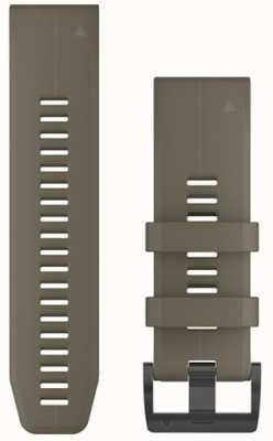 Garmin Bracelete de borracha bronzeada 26mm fenix 5x / tactix charlie 010-12741-04