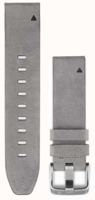 Garmin Correia de couro de camurça cinza quickfit 20mm fenix 5s 010-12491-16