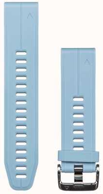 Garmin Correia de borracha azul quickfit 20mm fenix 5s 010-12739-03