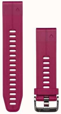 Garmin Correia de borracha roxa quickfit 20mm fenix 5s 010-12739-05