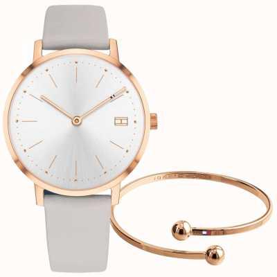 Tommy Hilfiger Relógio de mulher e conjunto de bracelete 2770032