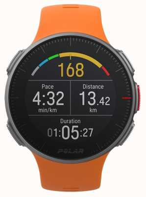 Polar Vantage v laranja gps multisport premium treinamento hr 90070738