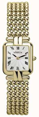 Michel Herbelin Senhoras | ouro clássico | relógio perles 17473/BP08