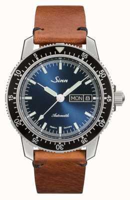 Sinn 104 sa ib | pulseira de couro marrom vintage 104.013 VINTAGE BROWN LEATHER
