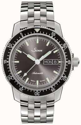 Sinn 104 st sa ia | pulseira de aço inoxidável de elo fino 104.014 FINE LINK BRACELET
