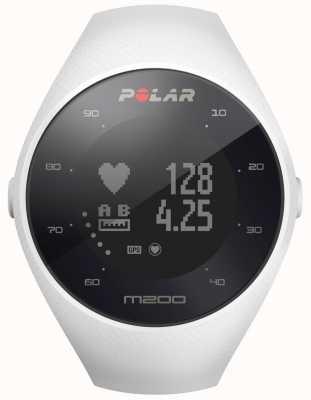 Polar Unisex branco m200 gps pulso hr m / l 90067741