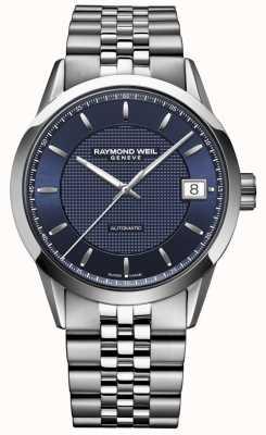 Raymond Weil Homens | freelancer azul escuro | relógio automático 2740-ST-50021