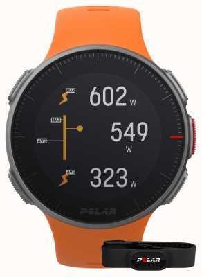 Polar Vantage v (com pulseira de hr) gps multisport pulseira laranja 90069666