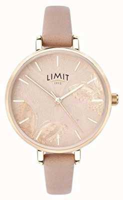 Limit | relógio do jardim secreto das mulheres | mostrador de borboleta pêssego | 60014