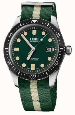 Oris Mergulhadores sessenta e cinco relógio automático 01 733 7720 4057-07 5 21 24FC