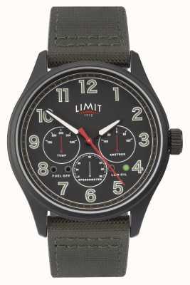 Limit | relógio preto mens | 5969.01