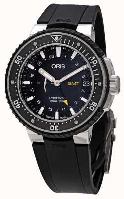 Oris Prodiver gmt relógio preto automático 01 748 7748 7154-07 4 26 74TEB