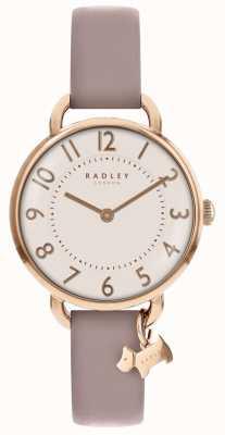 Radley Womens | parque southwark | pulseira de couro rosa RY2544S