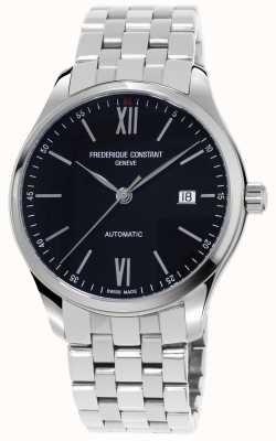Frederique Constant Relógio automático slim masculino FC-303BN5B6B