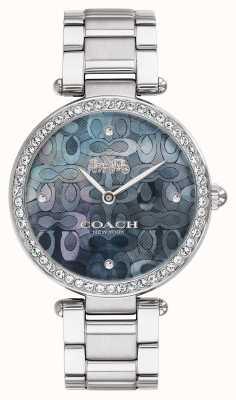 Coach | relógio do parque das mulheres | aço inoxidável | 14503221