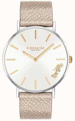 Coach | relógio de perry para mulher | cinta de creme | 14503157