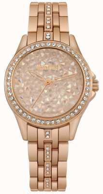 Missguided | senhoras assistem | ouro rosa | mostrador de pedras em ouro rosa | MG013RGM