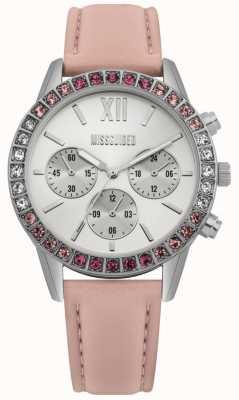 Missguided | senhoras assistem | pulseira de couro rosa | MG015P