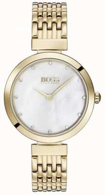 Hugo Boss | relógio de aço inoxidável de celebração das mulheres | 1502479