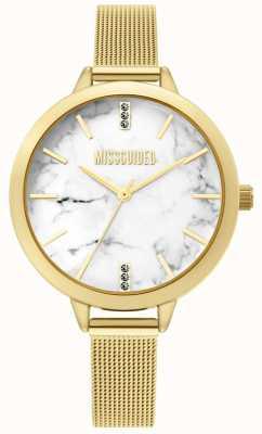 Missguided | senhoras ouro relógio de malha | MG011GM
