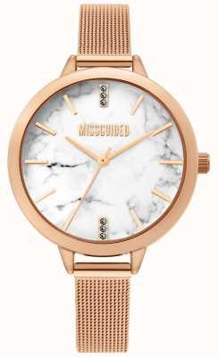 Missguided | senhoras aumentou relógio de malha de ouro | MG011RGM
