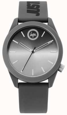 Hype | relógio de silicone cinzento dos homens | HYU020EE