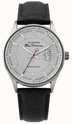 Ben Sherman | relógio de script de malha de prata dos homens | BS008B