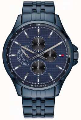 Tommy Hilfiger Shawn pulseira ip azul | mostrador azul 1791618