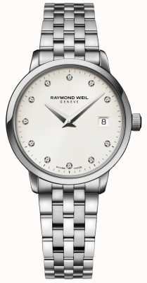 Raymond Weil | senhoras toccata relógio de diamantes | 5988-ST-40081