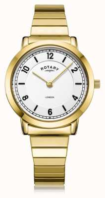 Rotary | pulseira de senhora banhado a ouro | LB00766/18