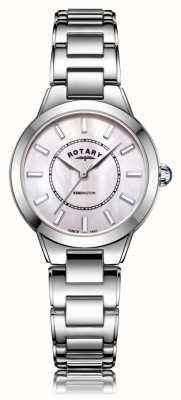Rotary | pulseira de aço inoxidável para senhora | LB05375/07