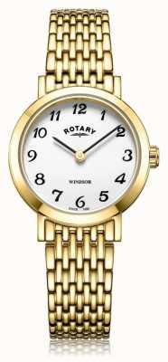 Rotary | pulseira de senhora banhado a ouro | LB05303/18
